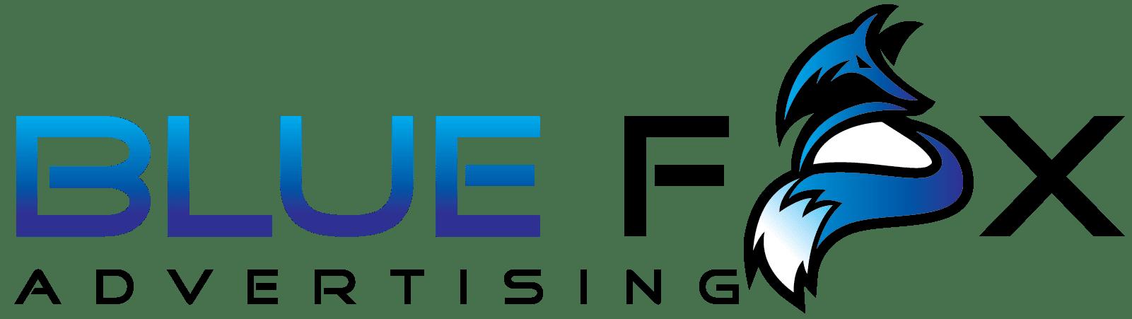 blue fox advertising logo